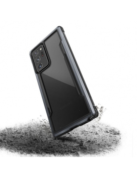 Etui aluminiowe X-Doria Raptic Shield Samsung Galaxy Note 20 Ultra (Drop test 3m) (Black)