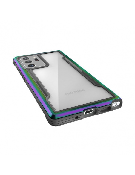 Etui aluminiowe X-Doria Raptic Shield Samsung Galaxy Note 20 Ultra (Drop test 3m) (Iridescent)