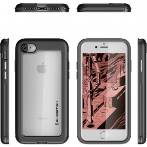 Etui Ghostek Atomic Slim iPhone 8/7 Black