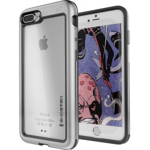 Etui Ghostek Atomic Slim iPhone 8/7 Plus Silver