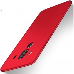 Etui MSVII Huawei Mate 10 Pro Red + Szkło